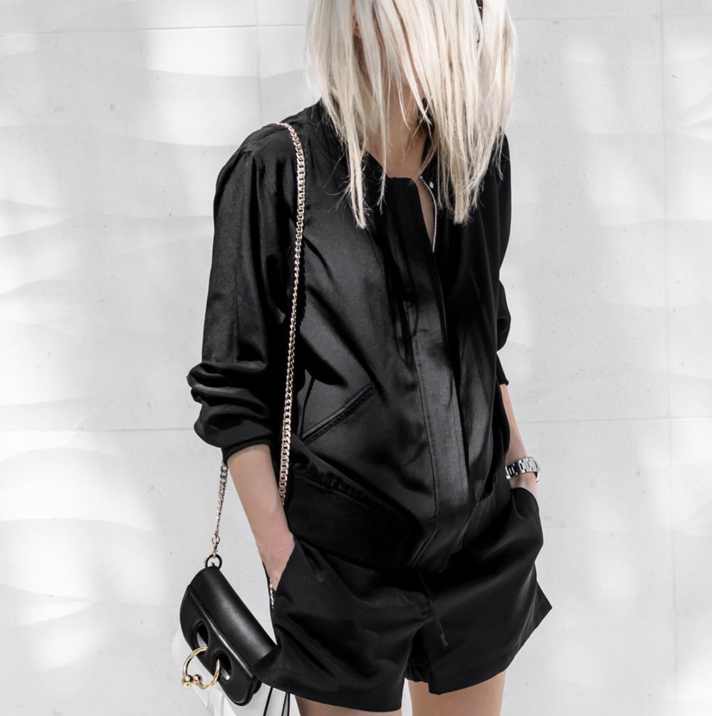 Blogger FIGTNY in the Bomber Set