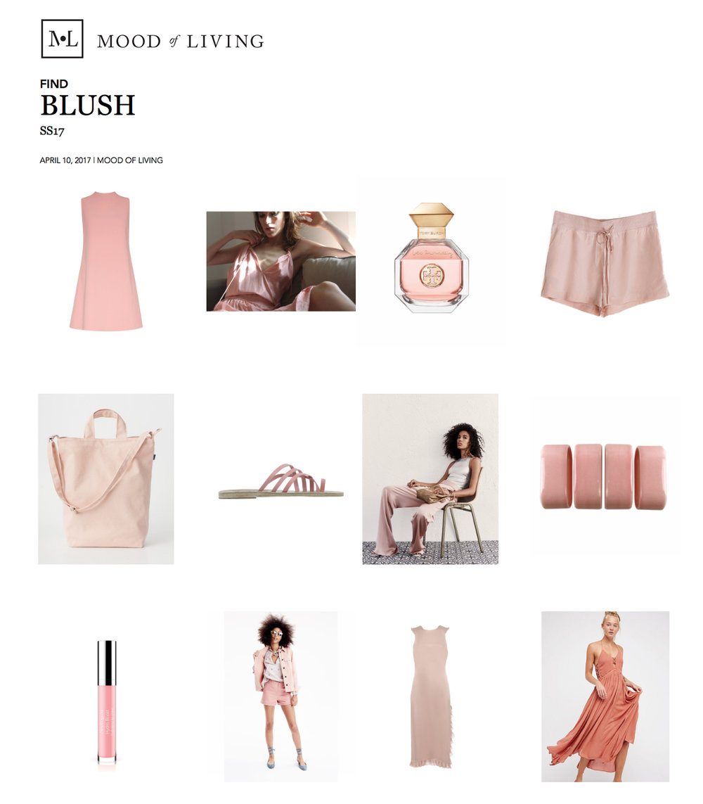 The Harper Short in Blush featured on Mood of Living