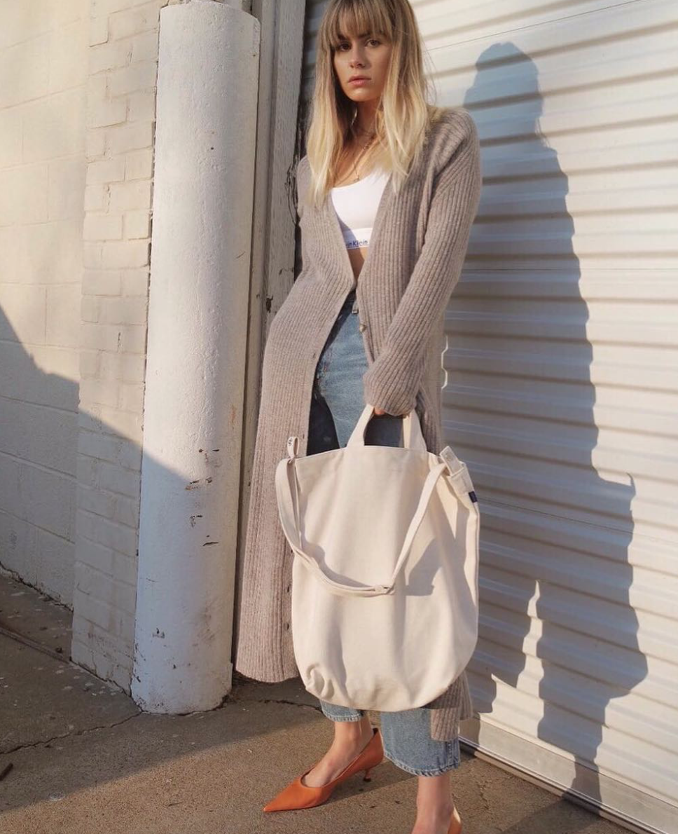 @courtneeruthie wearing the Bianca Cardi in Mink | #artdeptclothing