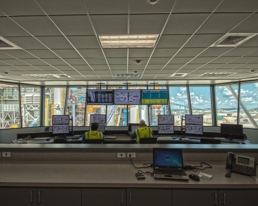 Amazing Nucor Control Room Building Regal Largest Home Design Picture Inspirations Pitcheantrous