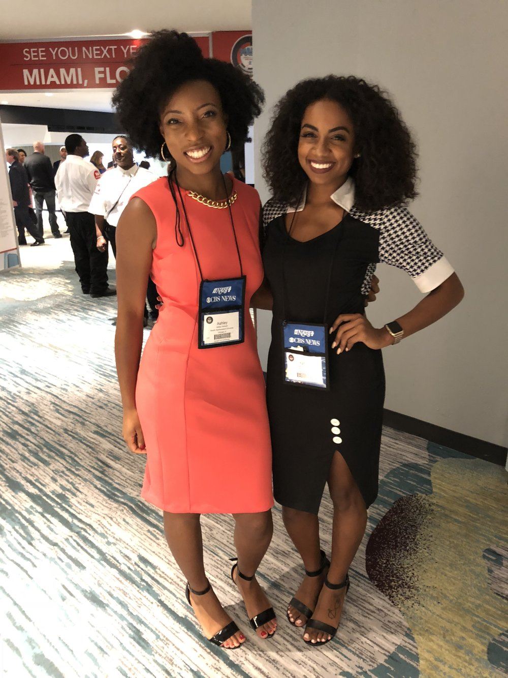 Iyani Hughes, a fellow curly girl and the founder of Curly Girls on Air