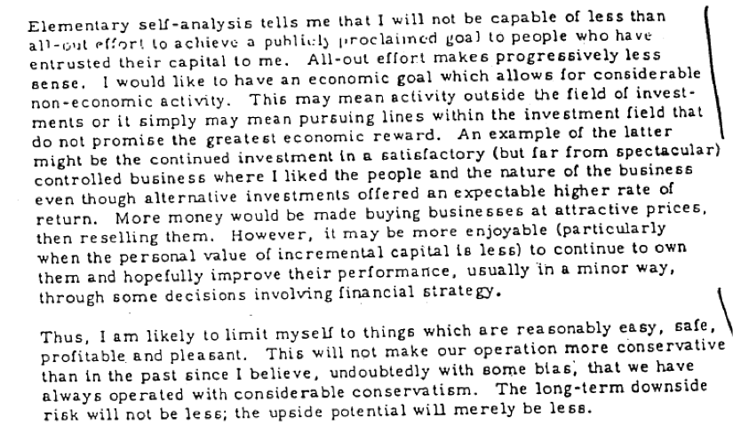 Warren Buffett Letter 1969 - 2