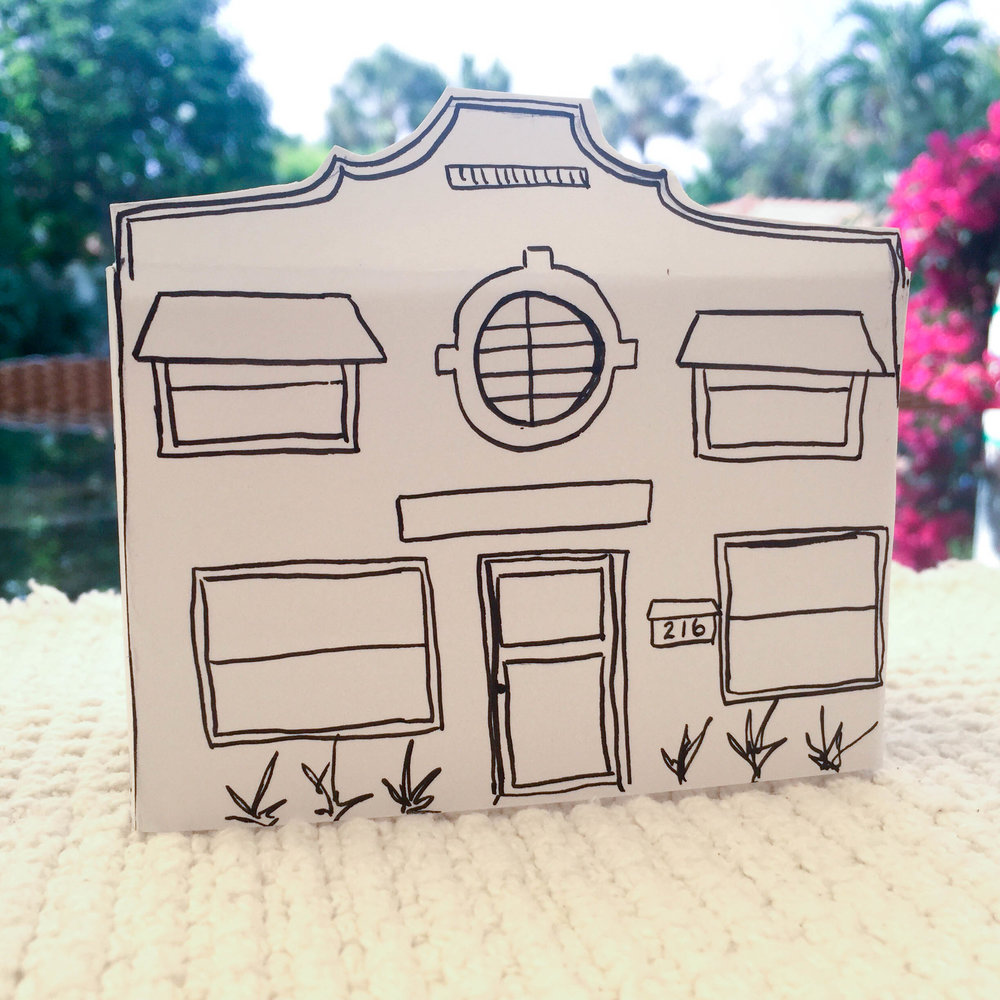 Paper Buildings: Palm Beach #1
