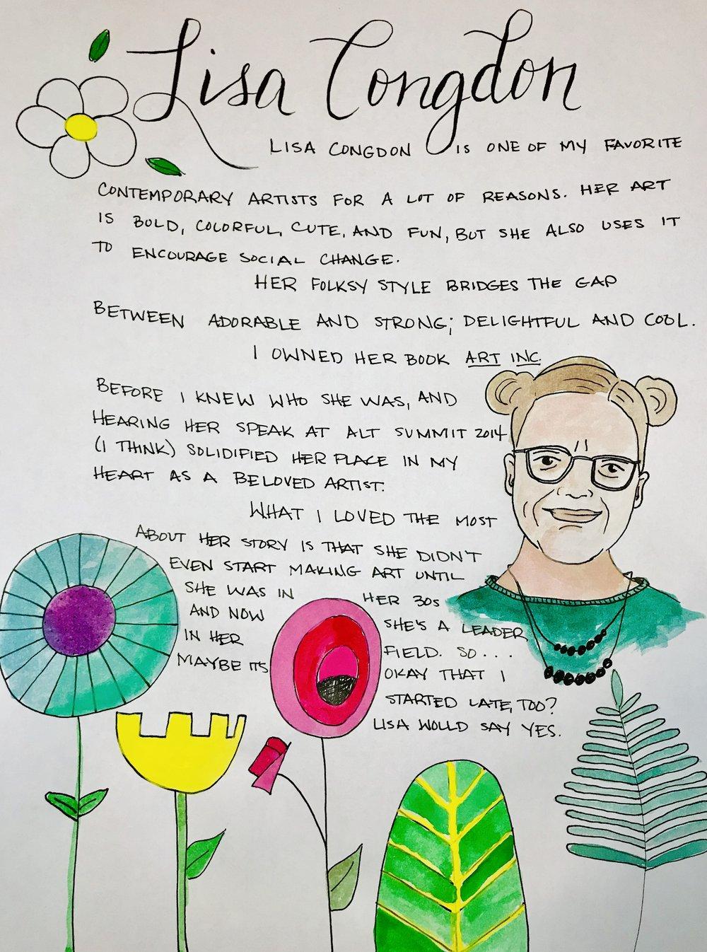 Lisa Congdon Illustration