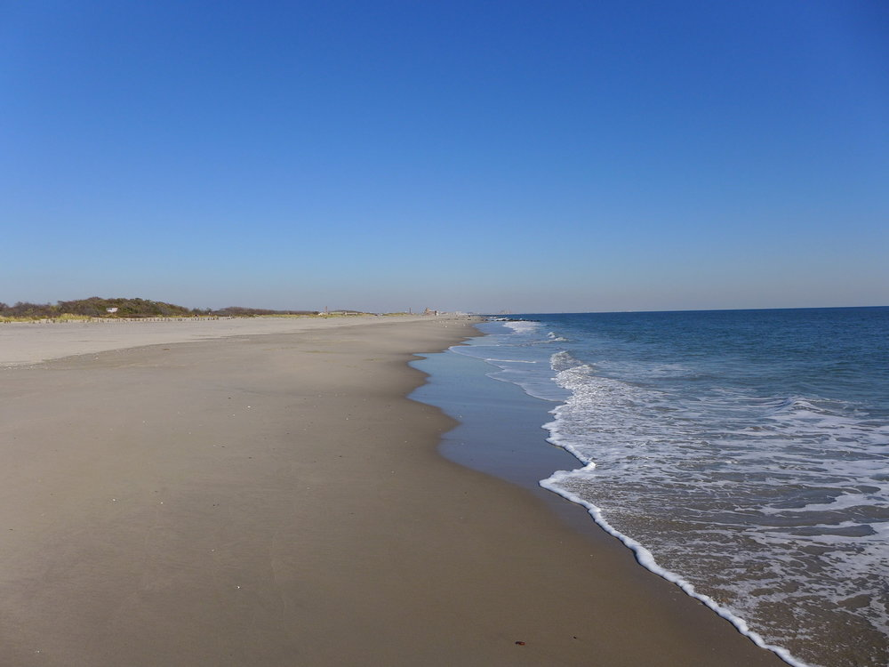 Winter Beach, Ft. Tilden