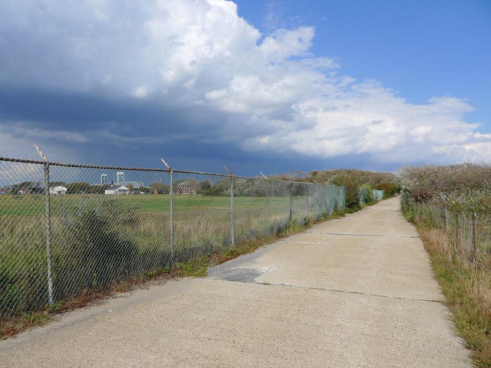 Between The Ballfields and Dunes at Ft. Tilden