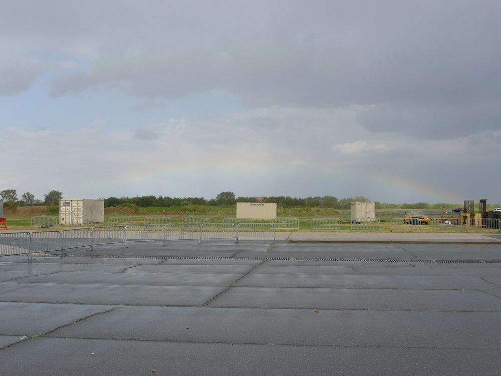 Rainbow at Floyd Bennett Field