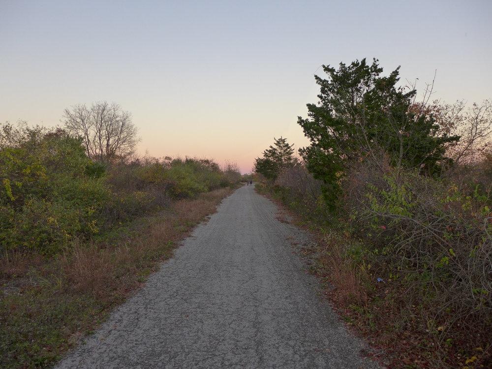 Gravel Path at Ft. Tilden