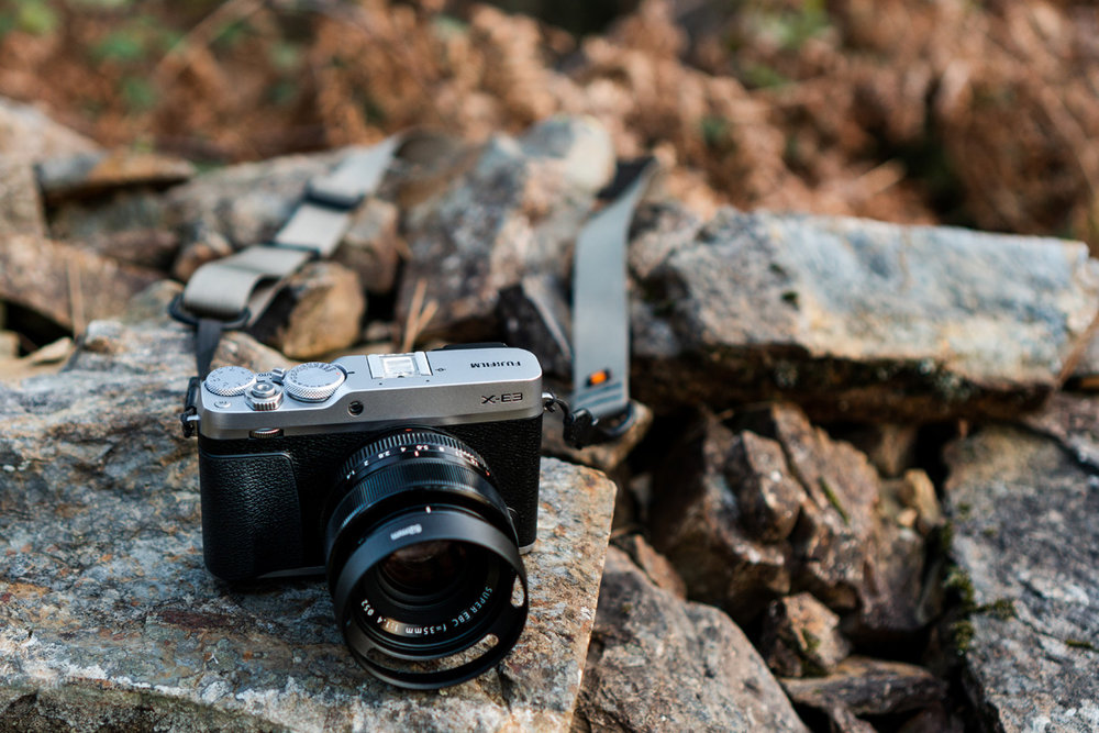 The Fuji X-E3 with the XF 35mm f/1.4 lens