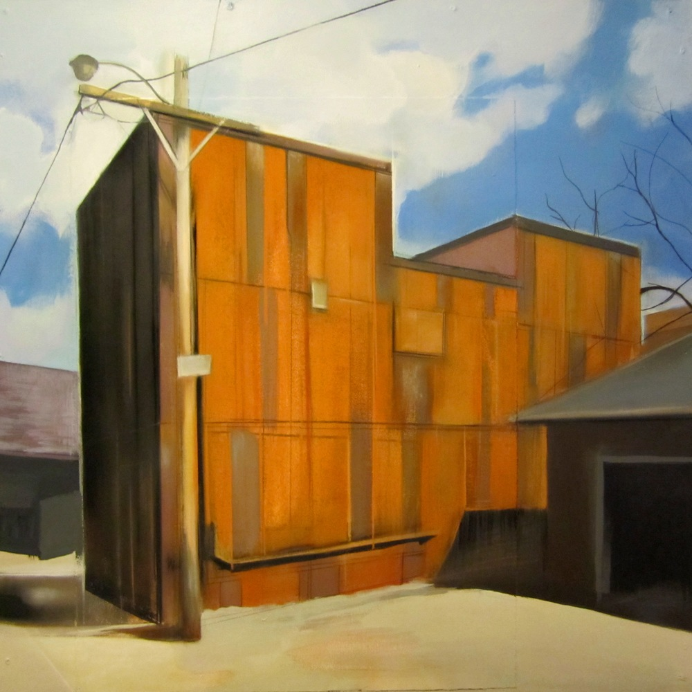 2 Warehouse Pastel,collage on panel 18 x 18in. 2013.JPG