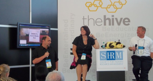 Fistful of Talent live from The Hive at SHRM 2012 (credit: Dice)
