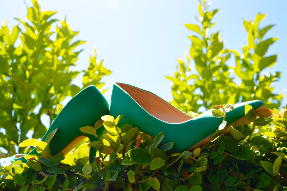Shoe:  Laken in Kelly Green