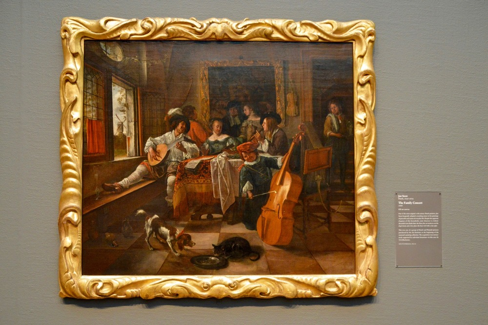 "Jan Steen  ""The Family Concert""  (1626-1679)"