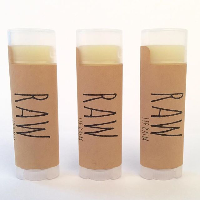 RAW Lip Balm in Pink Grapefruit + Lime