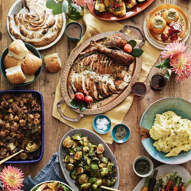 This Thanksgiving spread from  What's Gaby Cooking  just got me SO excited for turkey day!! Can't wait!!!