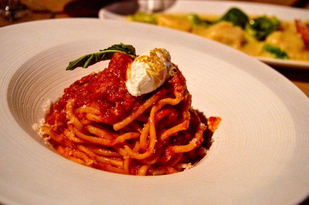 Bucatini - Calabrian chili pomodoro & fresh ricotta