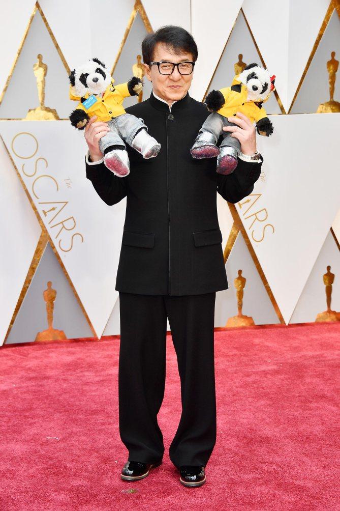 Jackie Chan & his Pandas (He's the Ambassador for the Panda)
