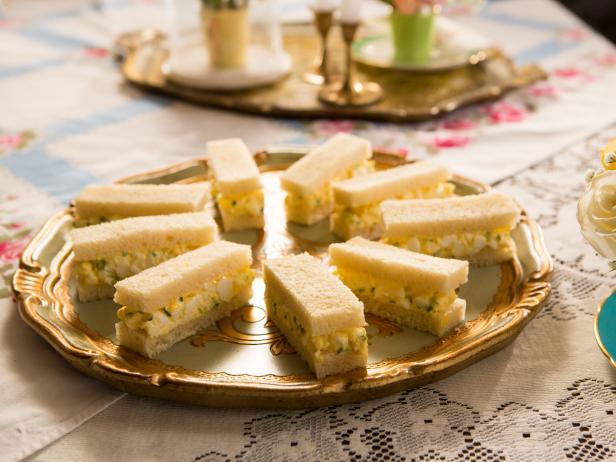 Truffled Egg Salad Tea Sandwiches - by Tiffani Thiessen
