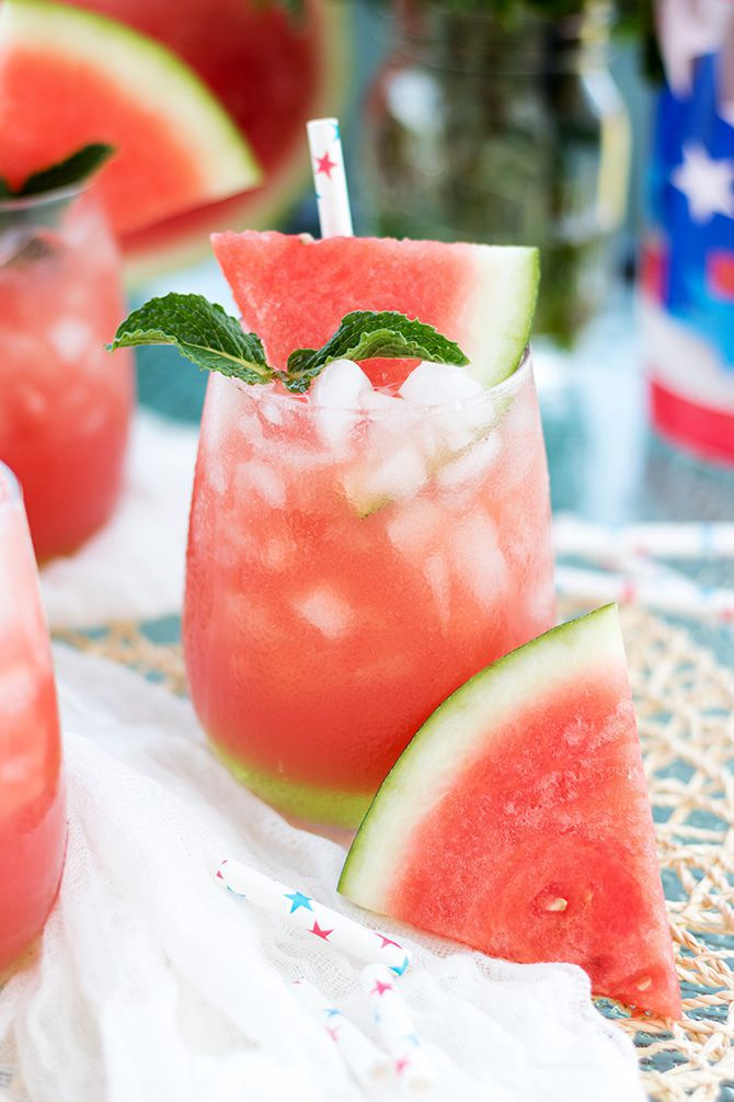 Vodka Watermelon Cooler - by Jennifer Meyering