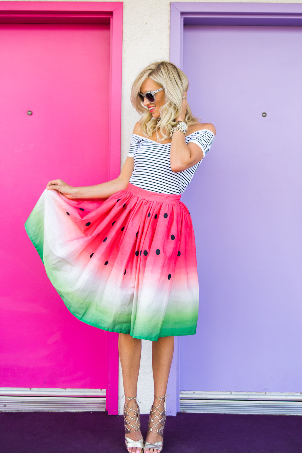 Watermelon Skirt - Styled by: Mckenna Bleu