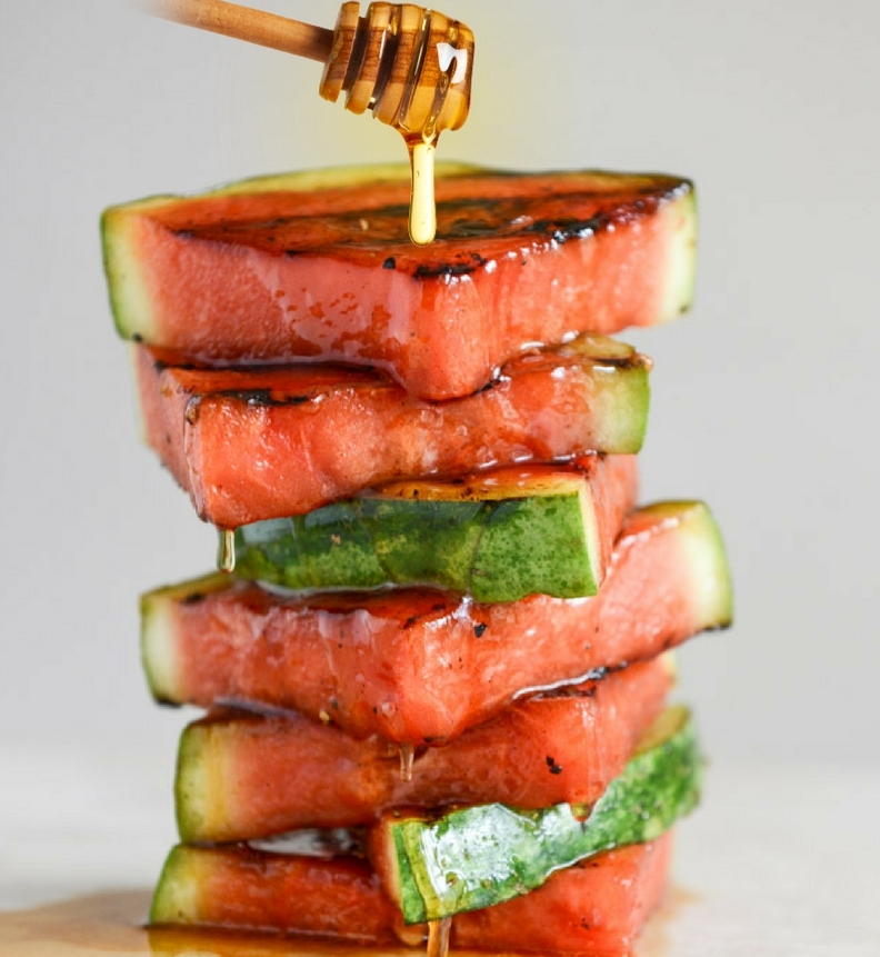 Honey-Glazed Grilled Watermelon - by Grill Lovers