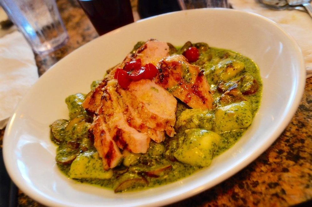 Truffle Stuffed Gnocchi with Chicken -