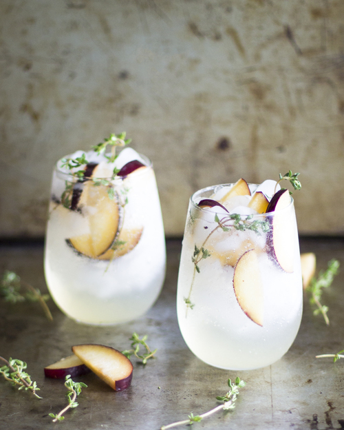 Plum & Thyme Prosecco Smash - by My Diary of Us