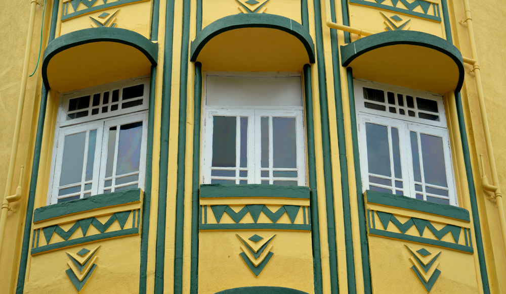 Art Deco Building Facade in Mumbai, Photo source: Aakriti Chandervanshi
