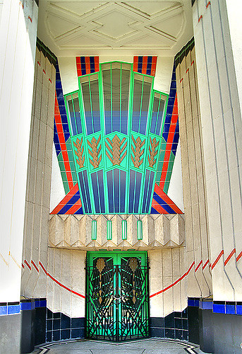 Bold Art Deco Colours - Hoover Building, London