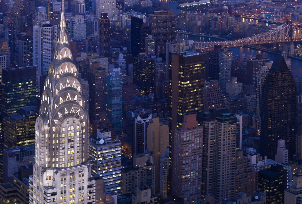 The Chrysler Building, New York - One of the most famous examples of Art Deco Architecture - Photo source: tishmanspeyer.com