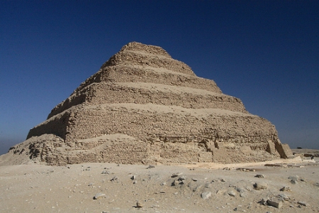 Djoser Pyramid - Saqqara, Egypt