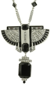 Forever 21 Art Deco necklace