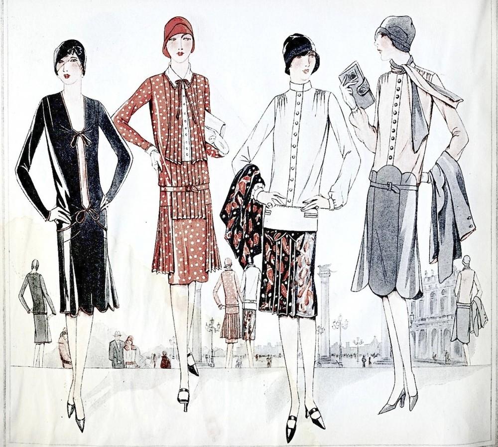 Flapper Fashions