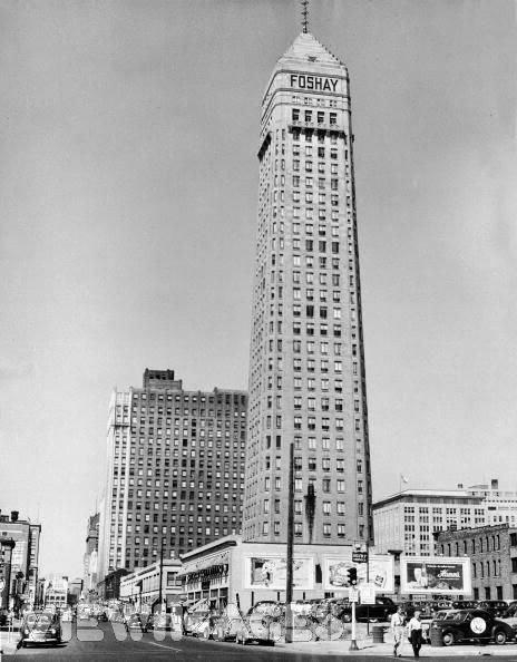 The Foshay Tower Then....