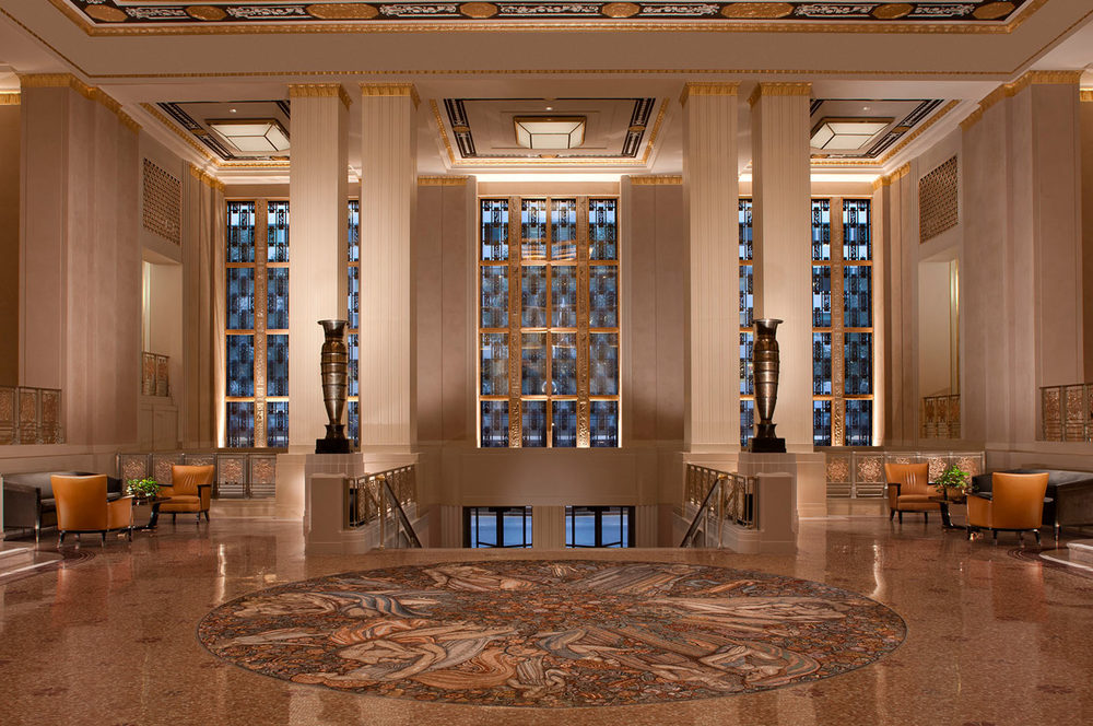 The Waldorf-Astoria Art Deco Lobby