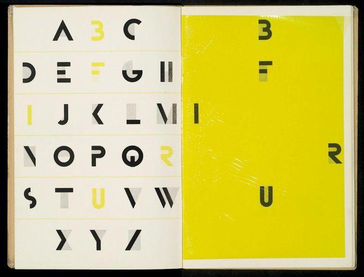 Bifur Font by AJM Cassandre