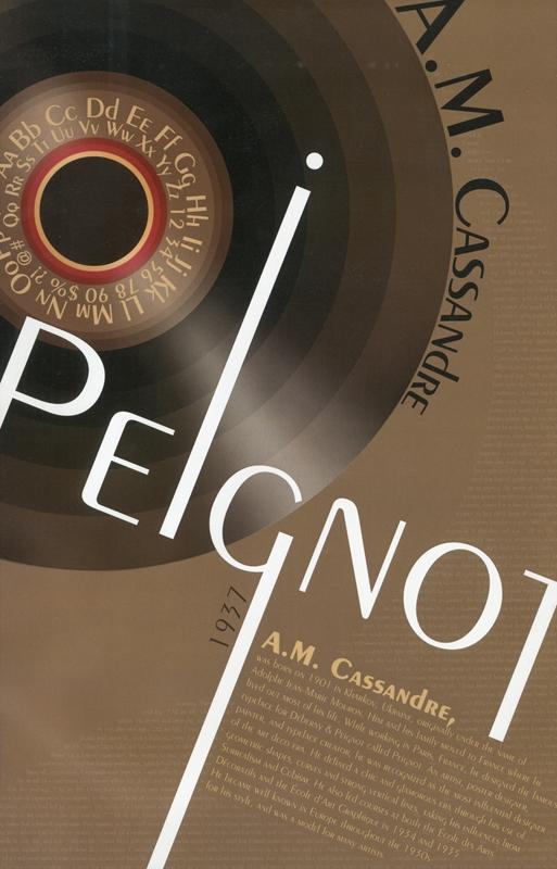 Peignot Typeface, 1937