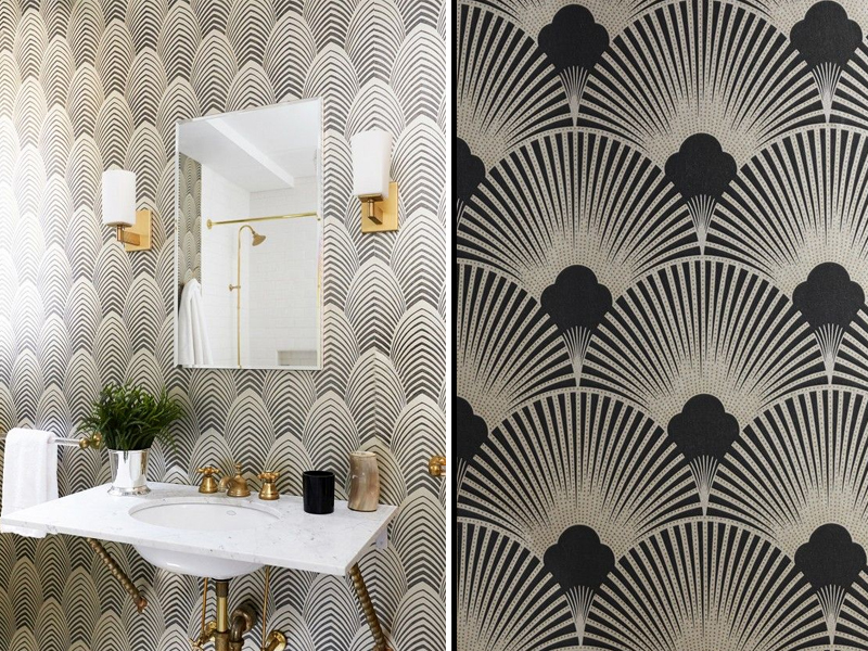 art deco wallpaper