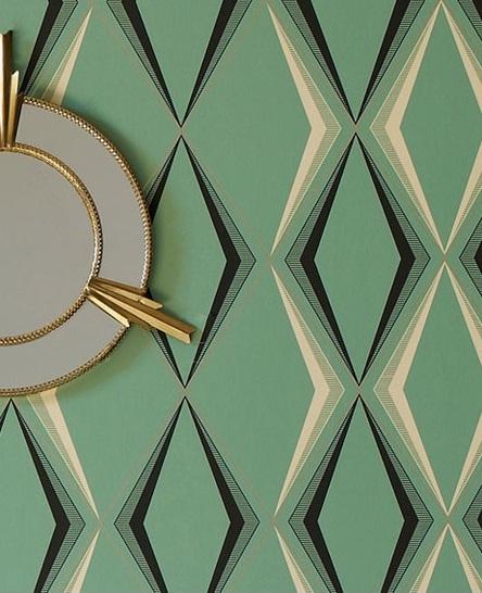 Bold Art Deco Wallpaper
