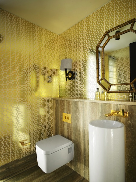 Art Deco Metallic Wallpaper