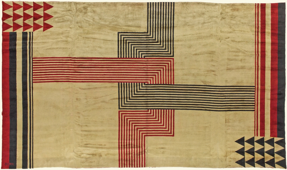 Antique French Art Deco Rug - Image source:   Dorisleslieblau.com
