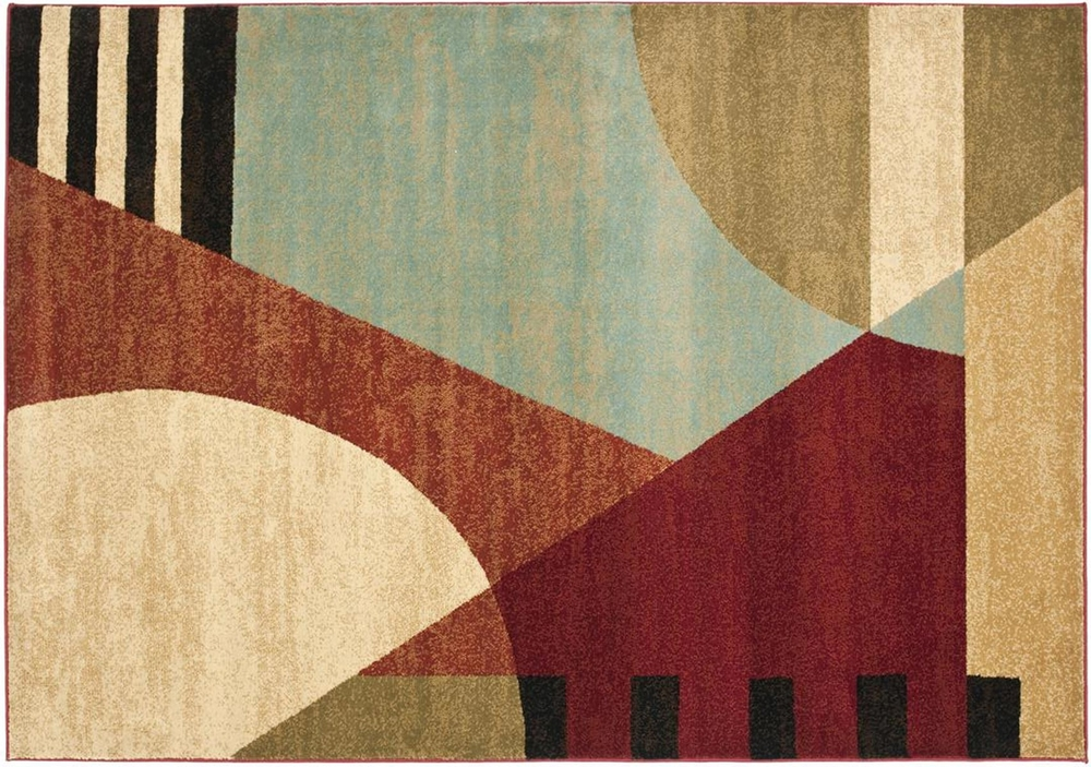 Art Deco Inspired Geometric Rug - Image source:   Safavieh