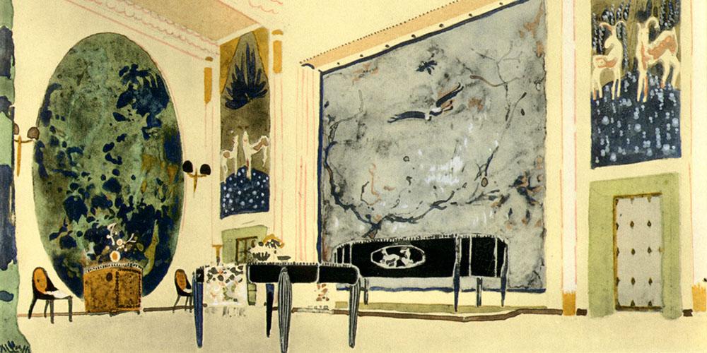 Art Deco Interior Design By Émile Jacques Ruhlmannu0027s U0026nbsp;  Image  Courtesy: Ruhlmann