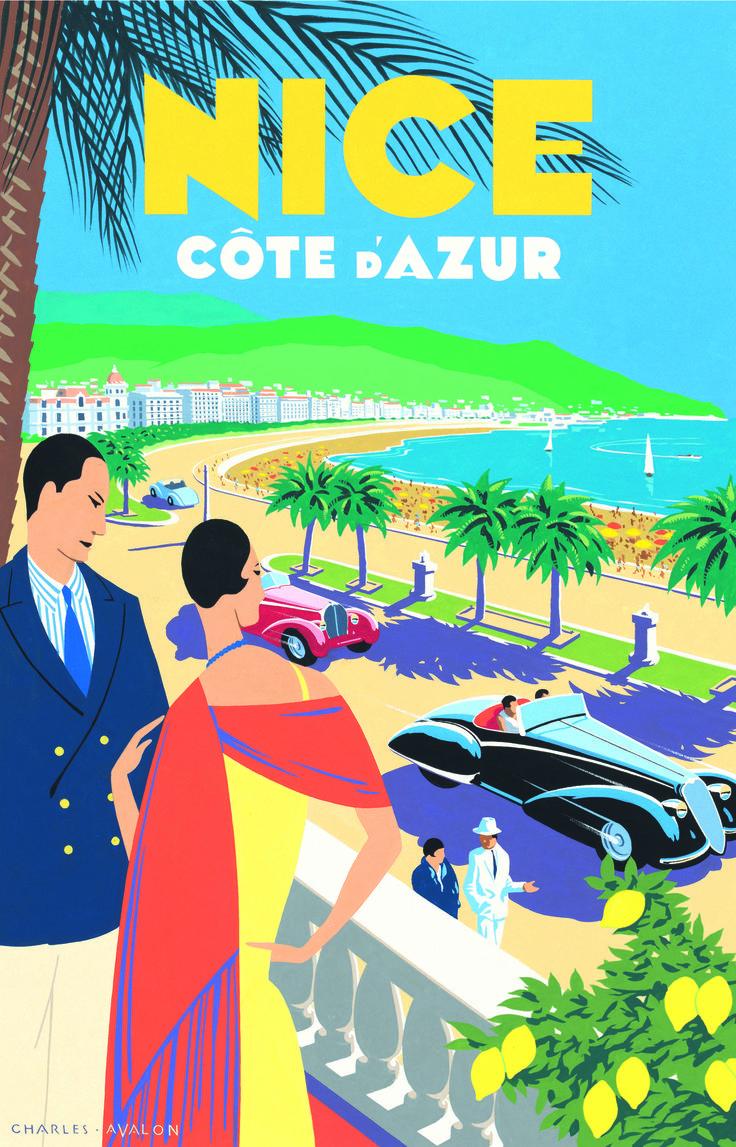 Art Deco Honeymoon in Nice