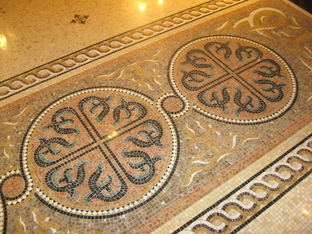 Art Deco Floor Tile