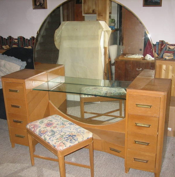 My Art Deco Vanity   Before