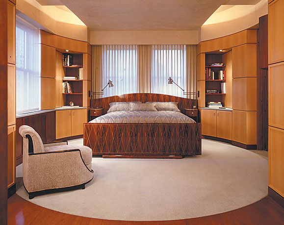 Art Deco Bedroom - Bed by Emile-Jacques Ruhlmann