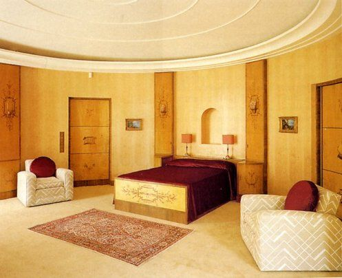 Art Deco Bedroom - Eltham Palace, UK