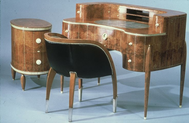 Art Deco Desk by Émile-Jacques Ruhlmann
