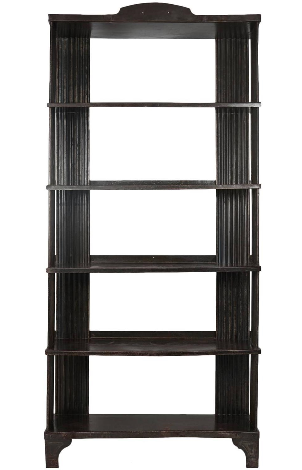 Art Deco Steel Shelving Unit